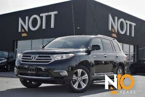 2013 Toyota Highlander V6 Limited Nav One Owner Low Kms