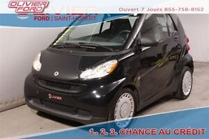 2010 smart fortwo pure BAS KM 28494KM WOW RWD 2 PASSAGERS A/C