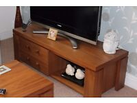 Solid WALNUT Furniture Set~Sideboard~Table Chairs~TV Unit~Mirror~Table~Pictures~