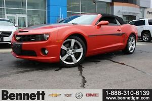 2011 Chevrolet Camaro 2SS - 6.2 V8,Convertible with HUD