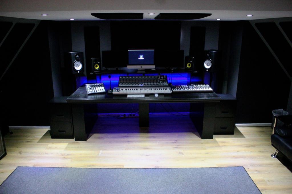 Large Professional Recording Studio Desk In Croydon