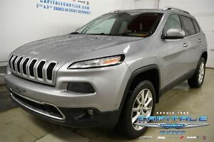 2014 Jeep Cherokee LIMITED*PLAN OR 160 000KM*GPS*TOIT