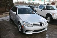 2011 Mercedes-Benz C300 4MATIC LEATHER,NAVIGATION,SUNROOF,AUTO