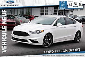 2017 Ford Fusion V6 SPORT*116$/SEMAINE*