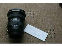 Tokina 11-16mm 2.8 canon fit
