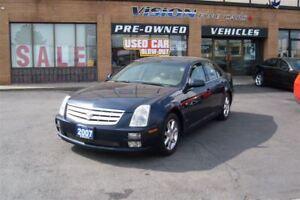 2007 Cadillac STS V6/LEATHER/SUNROOF/CLEAN CAR PROOF