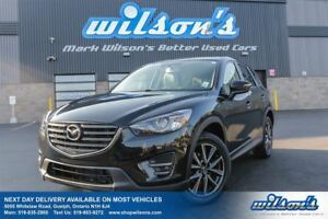 2016 Mazda CX-5 GT AWD! LEATHER! NAVIGATION! SUNROOF! HEATED SEA