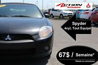 2011 Mitsubishi ECLIPSE SPYDER GS *4 cyl.*IMPECCABLE*CANADIENNE*
