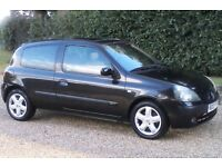 Ideal First Car (54 Plate) Renault Clio 1.2 Dynamique 3 Dr, Black, Low Ins Group, Easy To Drive