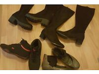 Bundle of shoes size (7 )and jackets size (14) £15 Pick up only -Hulme