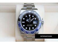 Rolex GMT Master II Blue Batman Stainless Steel