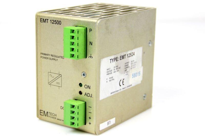 EMTECH  EMT 12500 POWER SUPPLY 24V EMT 12524 Konverter