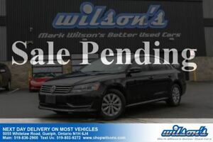 2012 Volkswagen Passat 2.5L TREDLINE+ HEATED SEATS! BLUETOOTH! C