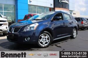 2009 Pontiac Vibe AWD with Sunroof