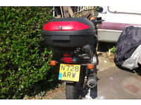New fork seals and front pads for MOT. Just had 12mth MOT. Selling as no longer need