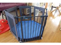 Lindam Playpen Black