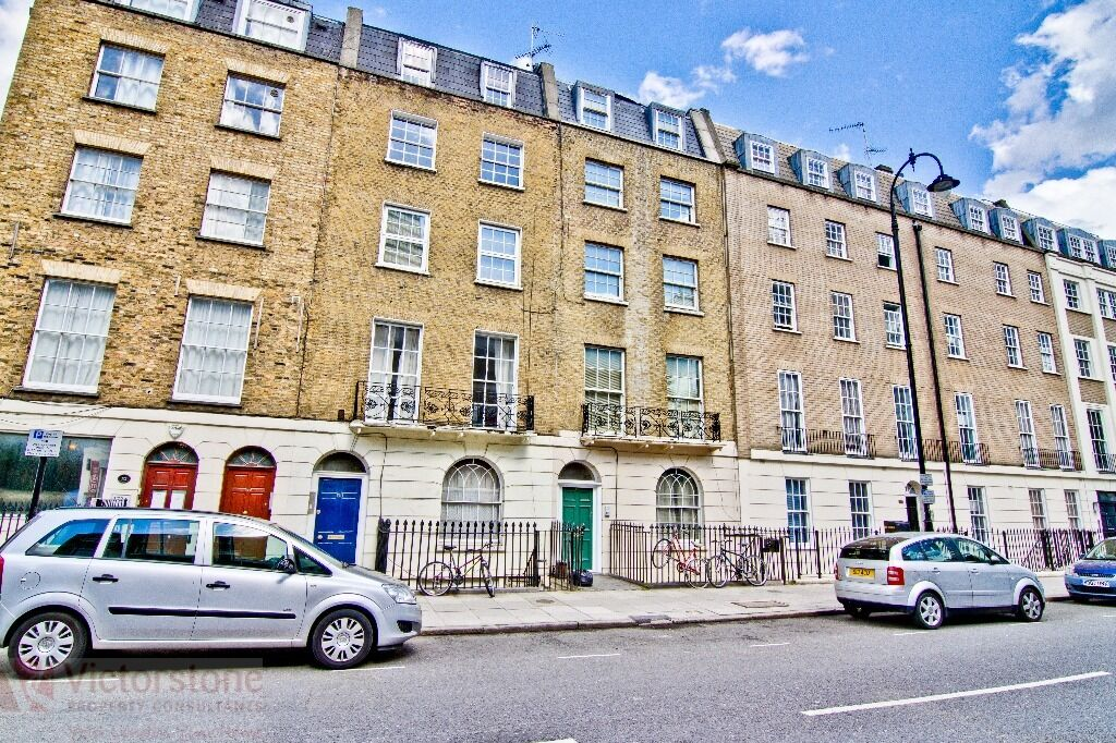 PRICE REDUCTION! 3 double bedrooms (no lounge) in north gower street, available from July