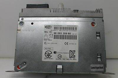 Oem Gps-modul (Peugeot 308 Citroen C4 Navigation Navi Radio CD GPS Modul Rechner 9809335980)