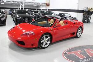2001 Ferrari 360 Spider CLEAN CARPROOF | 400 HORSEPOWER