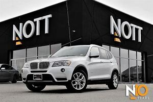2013 BMW X3 xDrive28i, Nav, Backup Cam, PanoRoof, LOADED
