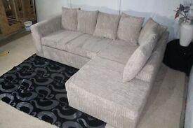 Mink Corner Sofa