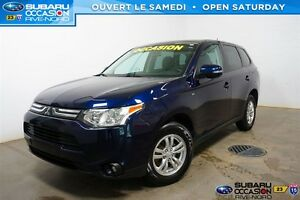 2014 Mitsubishi Outlander SE AWD BLUETOOTH+MAGS+SIEGES.CHAUFF