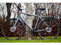 Norco Indie 2 Hybrid Bike, XL Frame, 27 Speeds, Hydraulic disc brakes, Mudguards, Pannier rack.