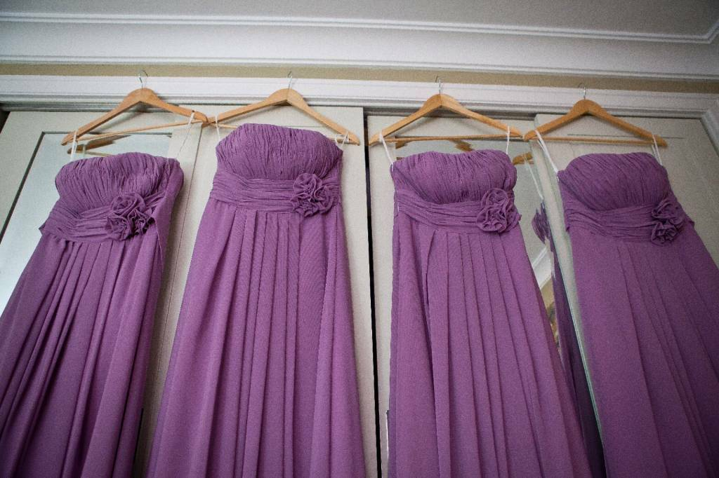 Lilac/purple Bridesmaid Dresses x 4 | in Portsmouth, Hampshire | Gumtree