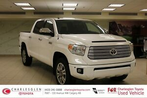 2015 Toyota Tundra Crewmax Platinum Package