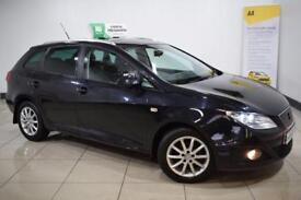 SEAT IBIZA 1.2 CR TDI ECOMOTIVE SE 5d 74 BHP (black) 2010