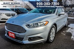 2015 Ford Fusion S, AUTO, LEATER SEATS, BLUETOOTH, A/C