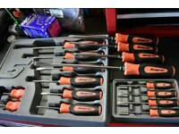 Snap on screwdrivers full set. Everything you will need