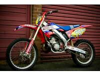 2002 HONDA CR250 R gen3 cr 250 2 stroke evo