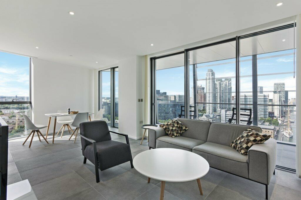 Beautiful River View Luxury 2 Bed Apartment In Dollar Bay Point Canary Wharf