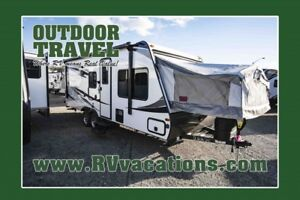 2018 FOREST RIVER Solaire 213X Ultra Lite Hybrid Travel Trailer