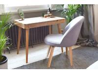 Oak Madrid futon company desk