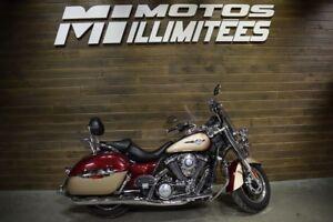 2009 Kawasaki Vulcan 1700 Nomad Liquidation hivernale 250 motos