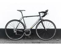 Boardman team road bike 55.5 cm amazing lightweight and fast quality parts