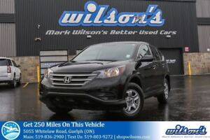 2014 Honda CR-V LX HEATED SEATS! CRUISE CONTROL! POWER PACKAGE!