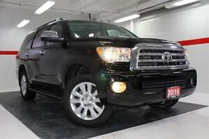 2016 Toyota Sequoia Platinum 4WD Heated Ventilated Lthr Nav Sunr