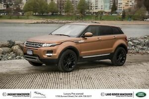 2014 Land Rover Range Rover Evoque Prestige 1.9% Finance!