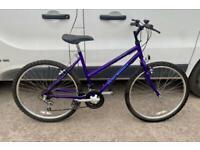 "Ladies Raleigh mountain bike 18"" frame 26"" wheels £60"