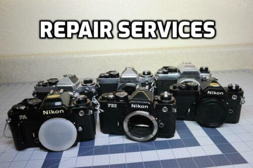 """REPAIR"" Nikon FA, FE, FM, FE-2, FM-2 Repair Service with 6 months Warranty"
