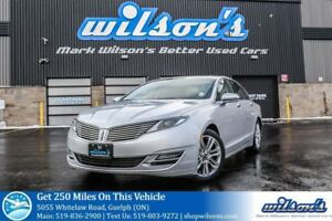 2014 Lincoln MKZ LEATHER! NAVIGATION! SUNROOF! BLUETOOTH! CRUISE