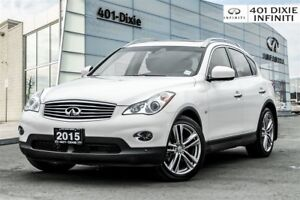 2015 Infiniti QX50 Tech! Navi! Blind Spot! 360 Camera! Bose!