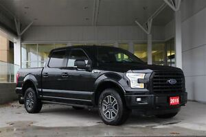 2015 Ford F-150 XLT SPORT Crew 302A 5.0L V8 with Navigation & Pa