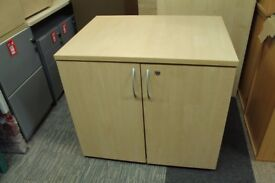 Deluxe two door desk height Office Cupboard