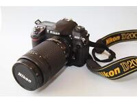 Nikon D200+70-300mm D Lens