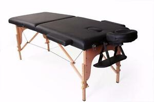 "Table de massage 28"" 2 sections PORTABLE SHIPPING ET TAXES INCLUSES"