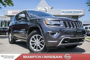 2014 Jeep Grand Cherokee Overland *NAVI|LEATHER|Blind spot*